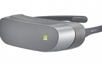 LG unveils a compact LG 360 VR headset