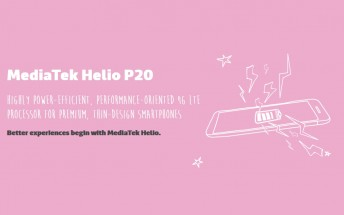 Mediatek introduces Helio P20 SoC at MWC