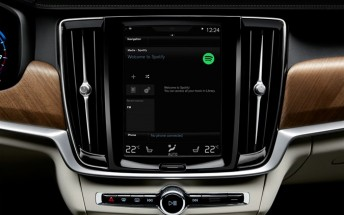 Volvo is bringing Spotify to its cars