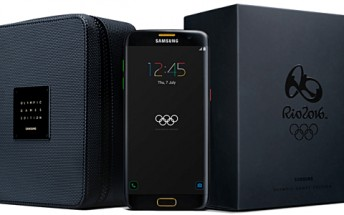 Samsung Galaxy S7 edge Olympic Games Edition up for pre-order, costs €879
