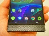 The Razer Phone has no shortage of bezels and two impressive speakers