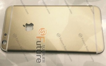 Alleged iPhone 6s Plus rear housing appears in live photos