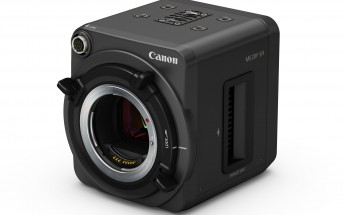 Canon ME20F-SH is company's first ultra-high-sensitivity video camera, capable of ISO 4,000,000