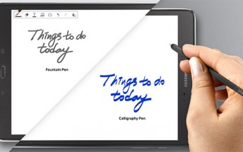 Samsung Galaxy Tab A & S Pen quietly unveiled