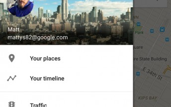 New Google Maps feature lets you view all the places you've been