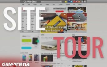 A brief site tour of the new GSMArena.com