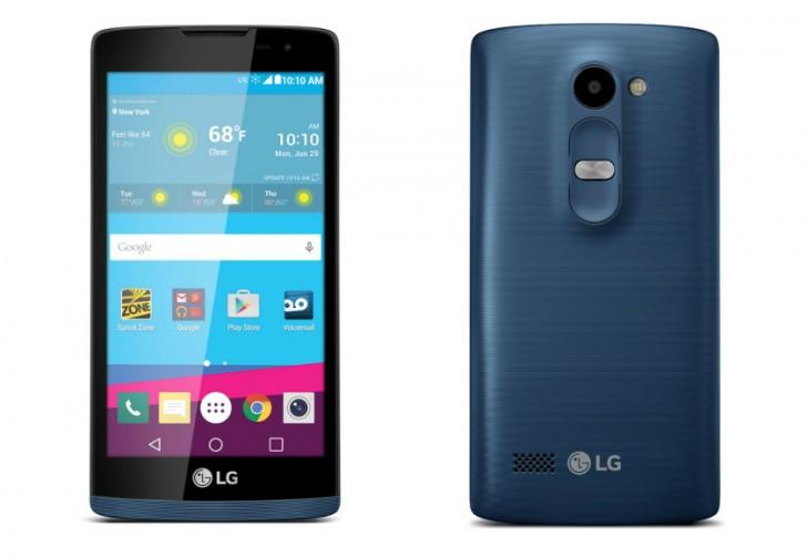 LG Tribute 2 debuts at Sprint and Virgin Mobile - GSMArena.com news