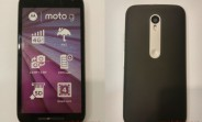 Moto G (3rd gen) dummy unit confirms IPx7 certification