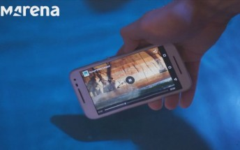 See the Moto G (3rd gen) go underwater