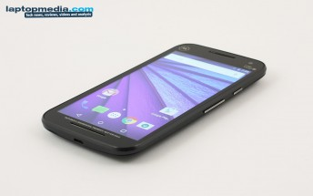 Motorola Moto G (3rd Gen) handled before announcement