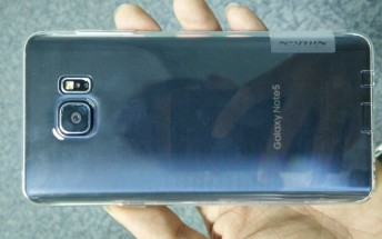 More live pictures appear showing the Samsung Galaxy Note 5