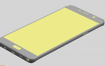 Exclusive: Samsung Galaxy Note 5, S6 Edge Plus renders reveal dimensions, controls