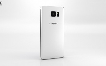 Check out this beautiful Samsung Galaxy Note 5 360-degree render