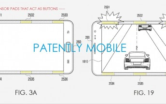 Samsung patents sensor pads to control devices with their edges