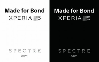 Leaked images tease new 'Made for Bond' Sony Xperia smartphone
