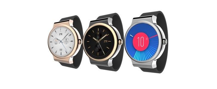 ZTE Unveils Axon Smartwatch with Tencent OS