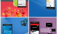 New leaked  images tease BlackBerry Venice and Passport-droid