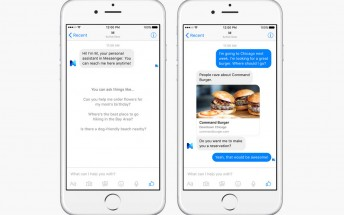 Facebook's entry into the virtual assistant space is called M, lives in Messenger