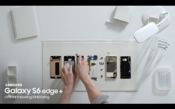 Samsung Galaxy S6 edge+ inboxing: assembling the flagship phablet