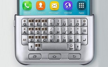 This odd physical keyboard for the Galaxy S6 edge+ just popped up online
