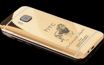 This Goldgenie 'Cecil the Lion' 24K gold HTC One M9 will make you further lose faith in humanity