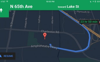 Google Maps for iOS adds night mode for navigation