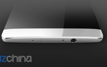 Huawei Mate 8 possibly depicted in new leaked render