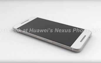 First renders of the Huawei Nexus phone are here