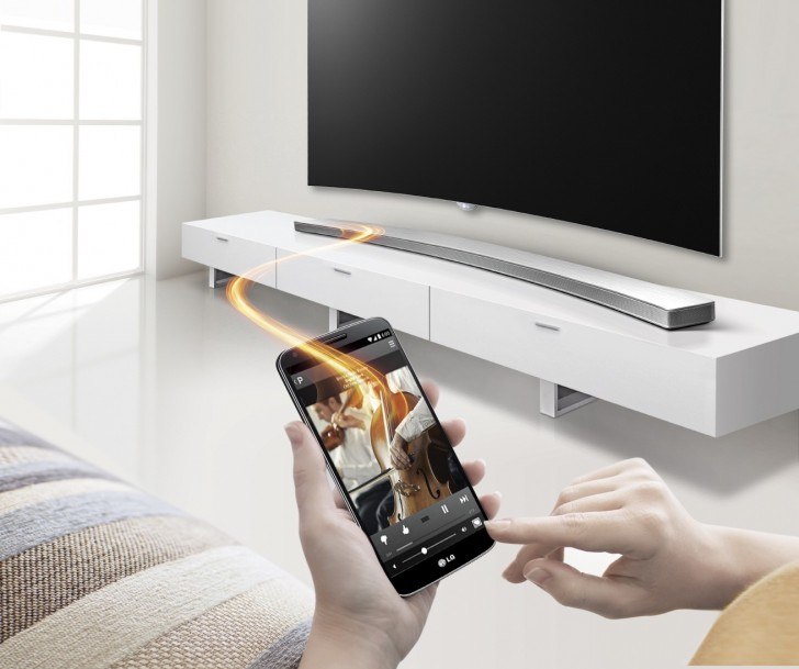 LG announces new curved sound bar to complement its curved