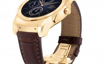 LG Urbane Watch Luxe is a smartwatch dressed in 23-karat gold
