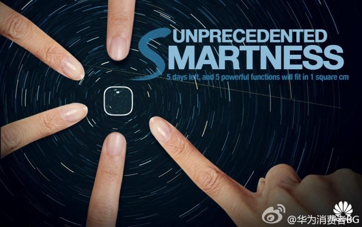 Huawei teases multifunction fingerprint sensor on the Mate ...