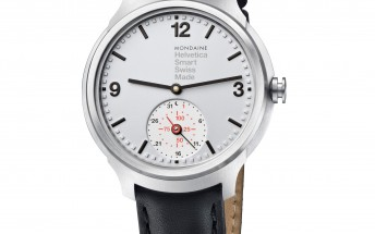 Limited edition Mondaine Helvetica 1 smartwatch now up for pre-order