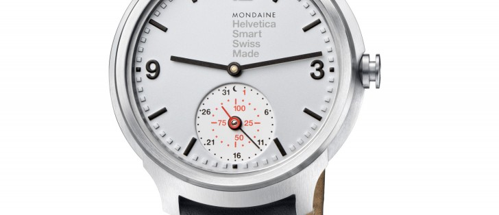 Limited edition Mondaine Helvetica 1 smartwatch now up for ...