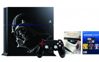 There is a Darth Vader-themed PS4 on the way and it looks awesome