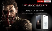 Sony unveils Metal Gear Solid-themed Xperia J1 Compact for Japan