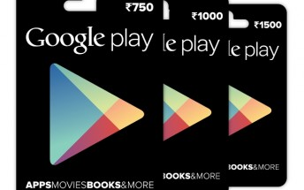 Google introduces Google Play gift cards in India