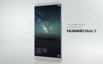 New promotional videos offer a close-up overview of the Huawei Mate S and its features