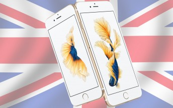 ЕЕ, Vodafone, O2, Three and Tesco will carry the iPhone 6s and 6s Plus in the UK