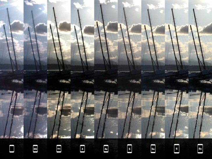 iPhone 6s camera gets compared to all its predecessors in ...