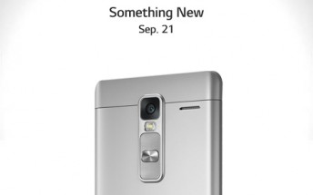 Metal-clad LG Class phablet to become official on September 21