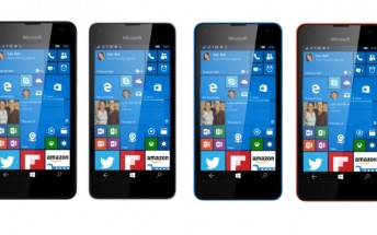 Upcoming Microsoft Lumia 550 allegedly pictured in four colors