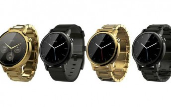 Next-gen Moto 360 gets portrayed in new leaked press renders
