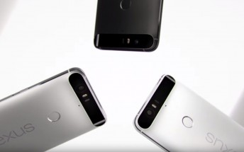 Huawei Nexus 6P promo video showcases the phone's cool design