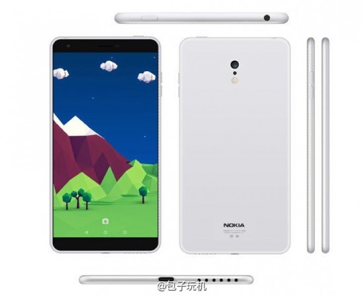 Nokia's upcoming C1 Android smartphone allegedly shown in ...