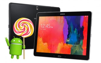 Samsung Galaxy Tab Pro 12.2 LTE jumps to Android 5.1.1