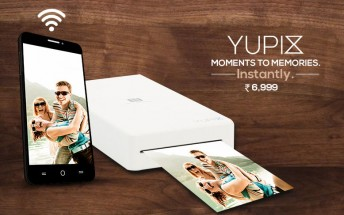 Yu's new YuPix is a portable photo printer for Android and iOS