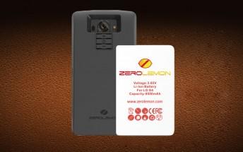 Zerolemon releases 8,500mAh battery for the LG G4
