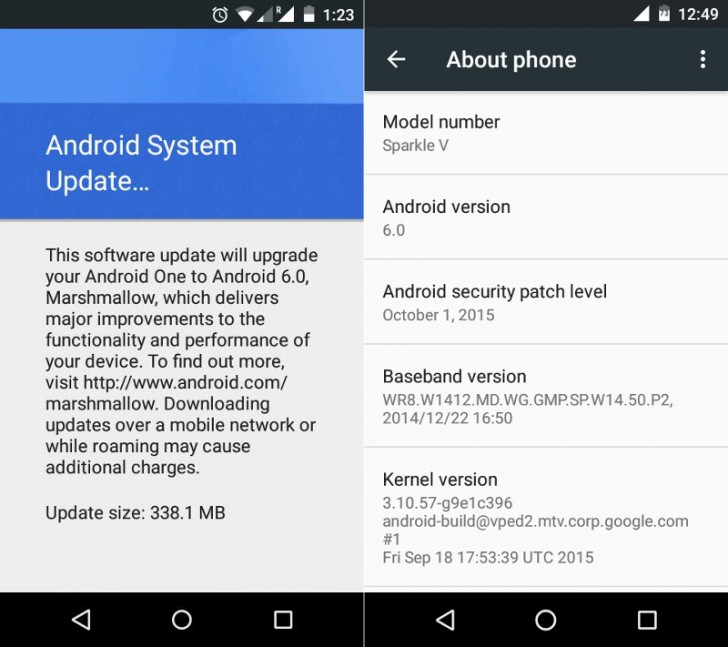 Android One devices are now getting Android 6.0 ...