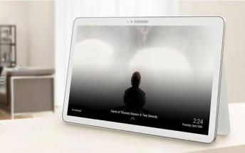 Samsung Galaxy View manual details TV and family sharing skills