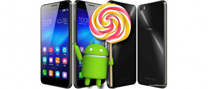 Huawei Honor 6 gets Android 5 1 1 Lollipop with EMUI 3 1